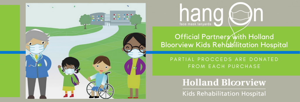 Hang-on is Official Partners with Holland Bloorview Kids Rehabilitation Hospital